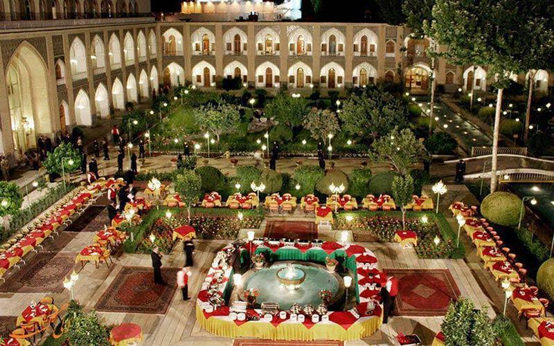 معرفی هتل عباسی در اصفهان ، 5 ستاره