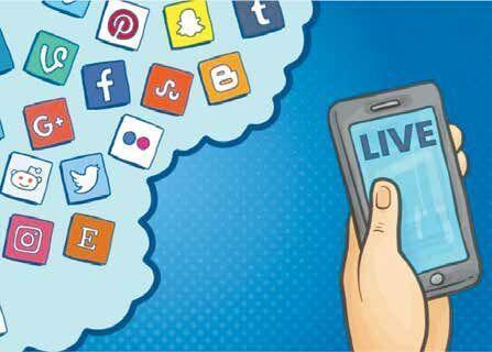 برنامه های زنده اینترنتیدر شبکه های اجتماعی افزایش یافت