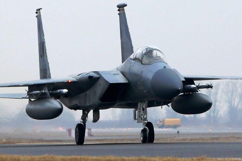 خبرنگاران جسد خلبان اف15 آمریکایی در انگلیس پیدا شد