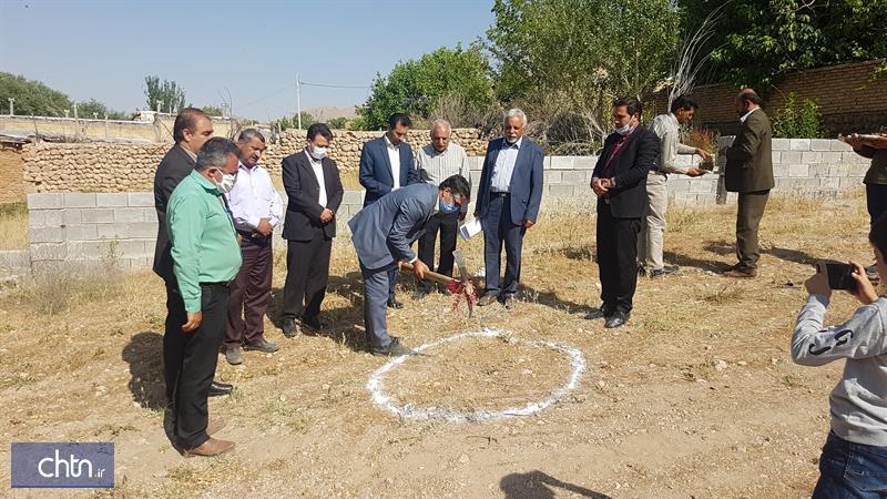 شروع ساخت یک بوم گردی در روستای هدف گردشگری آسپاس اقلید