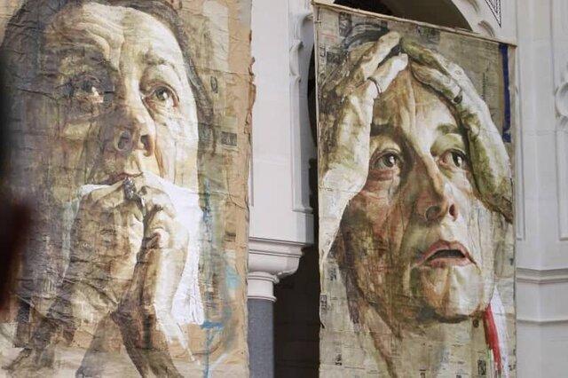نسل کشی در سربرنیتسا ، این نقاشی ها از جنایتی پرده برمی دارند