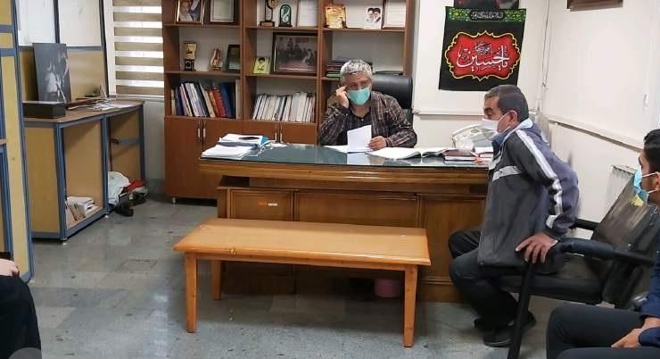 دیدار عمومی رئیس بنیاد قائم شهر با خانواده ایثارگران شهرستان