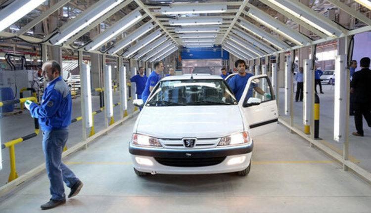 افزایش 59 درصدی تولیدات ایران خودرو